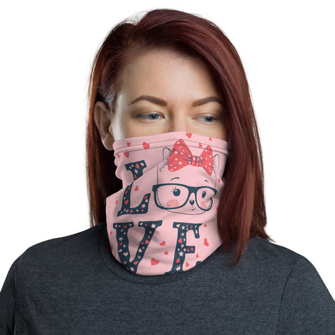Love Face and Neck Gaiter - Tshirtsbros