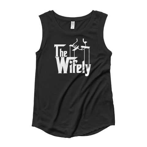 The Wifely Ladies' Cap Sleeve T-Shirt