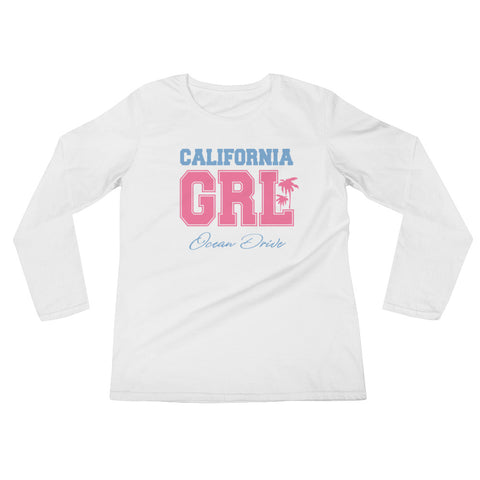 California Ladies' Long Sleeve T-Shirt