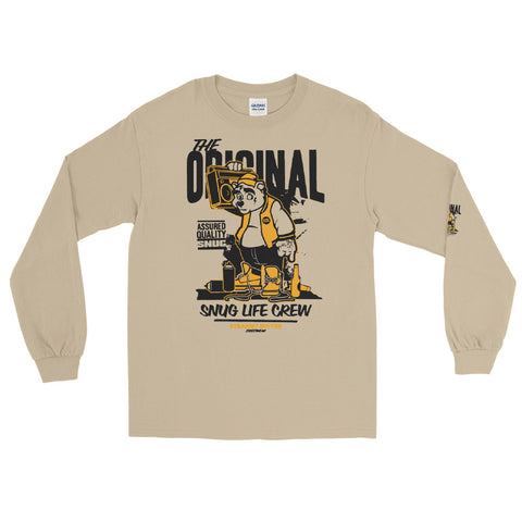 Snug Life Crew Long Sleeve T-Shirt - Tshirtsbros
