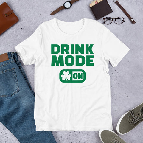 Drink Mode Short-Sleeve Unisex T-Shirt