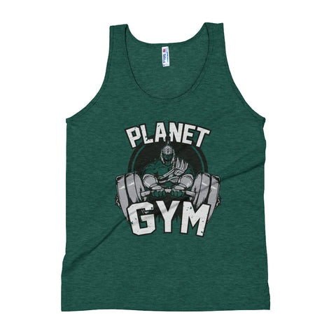 Planet Gym Unisex Tank Top - Tshirtsbros