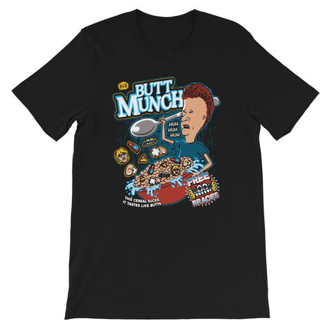 Butt Munch Short-Sleeve Unisex T-Shirt - Tshirtsbros