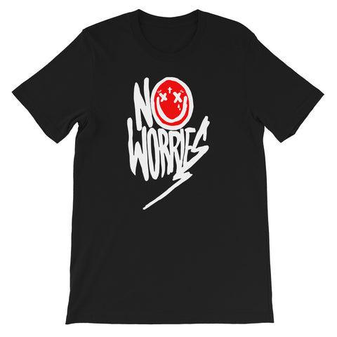 No Worries Lil Wayne Short-Sleeve Unisex T-Shirt