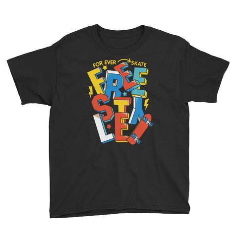 Freestyle Youth Short Sleeve T-Shirt