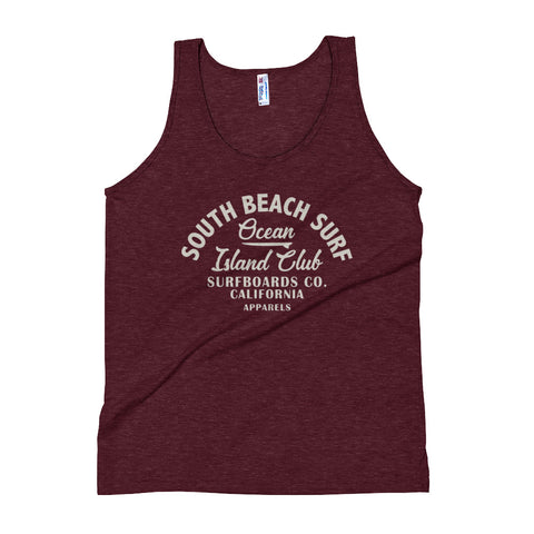 South Beach Surf Unisex Tank Top