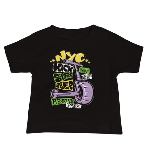 NYC Baby Jersey Short Sleeve Tee