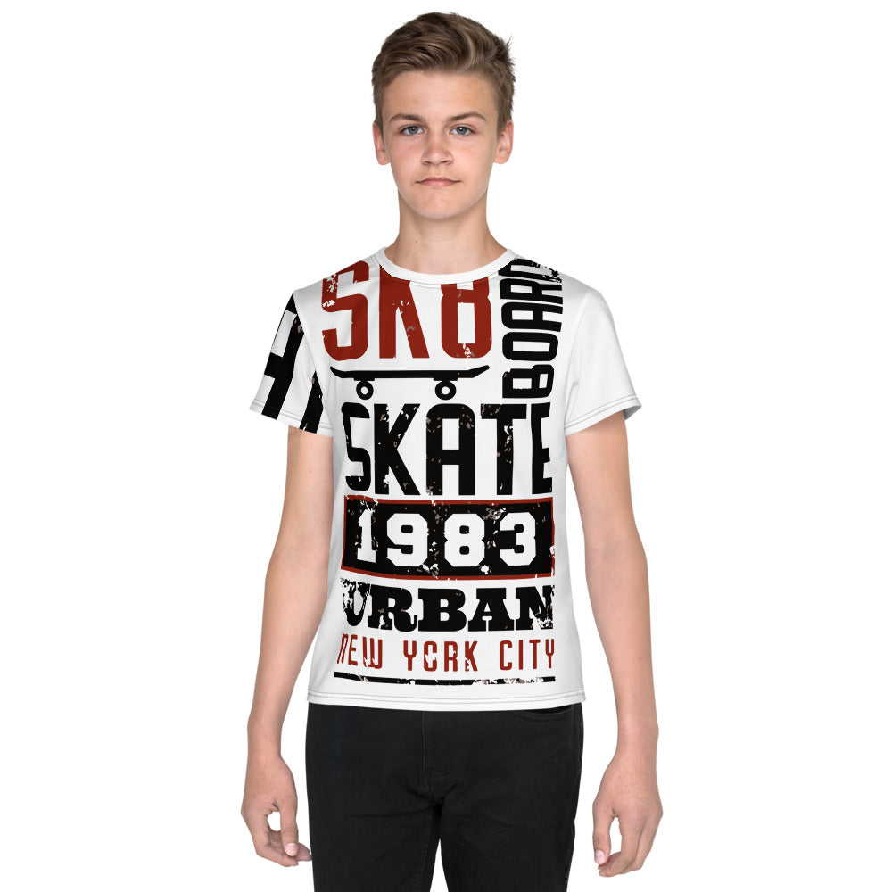 skateboard 1983 Youth T-Shirt - Tshirtsbros