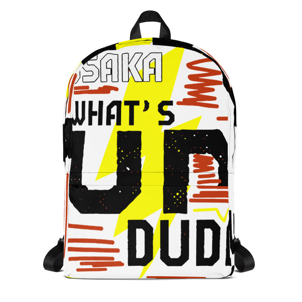 Whats Up Dude Backpack