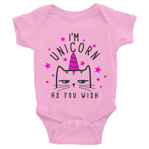 Im Unicorn As You Wish Infant Bodysuit