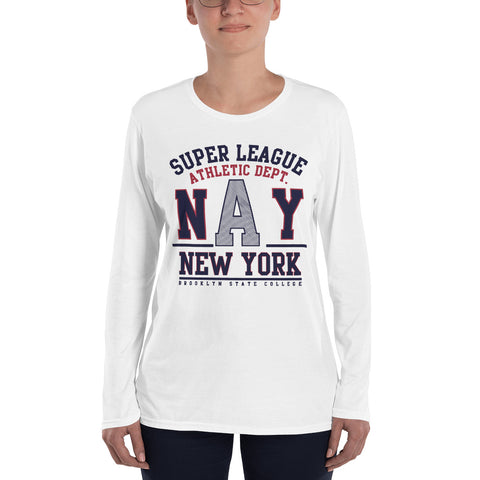 NAY Ladies' Long Sleeve T-Shirt