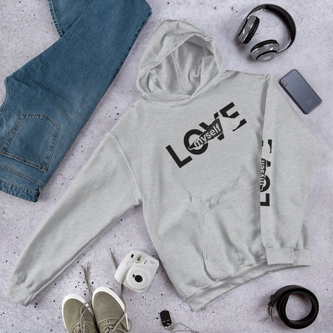 Love Myself  Heavy Blend Hooded Sweatshirt