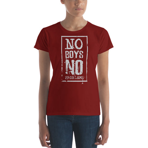 No Boys Women's short sleeve t-shirt