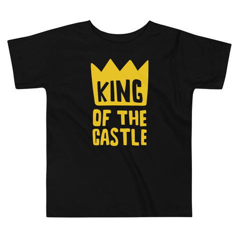King Of The Castle Toddler Short Sleeve Tee
