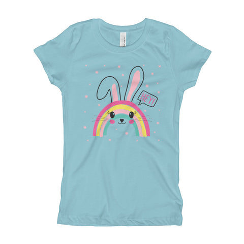 Hey Rabbit Girl's T-Shirt - Tshirtsbros