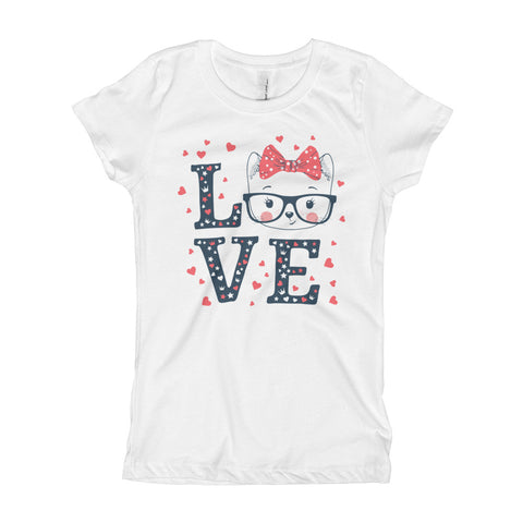 Love Cats Girl's T-Shirt