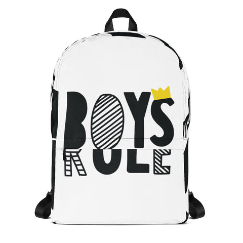 Boys Rules Backpack