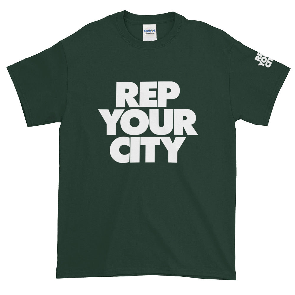 Rep Yo City Short-Sleeve T-Shirt - Tshirtsbros