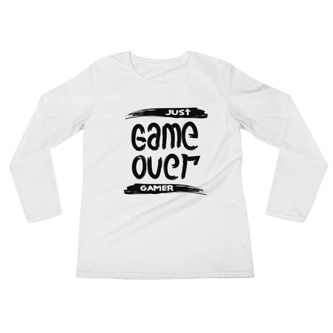 Game Over Ladies' Long Sleeve T-Shirt
