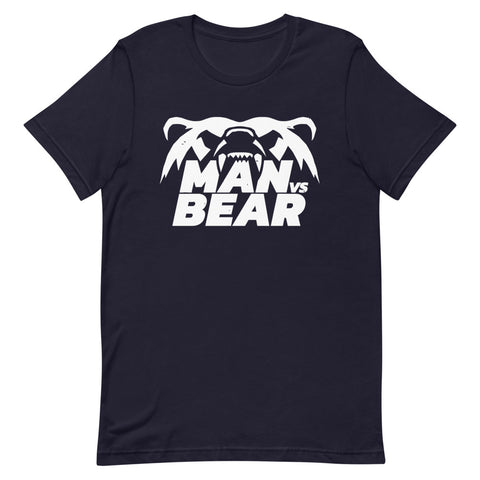 Man Vs Bear Short-Sleeve Unisex T-Shirt