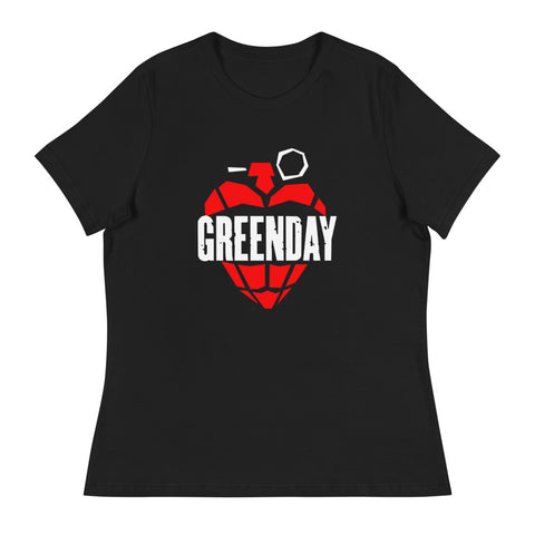 Greenday Women's Relaxed T-Shirt - Tshirtsbros