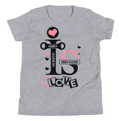 Girl Love Youth Short Sleeve T-Shirt - Tshirtsbros