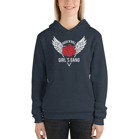 Rock And Roll Girls Gang  hoodie