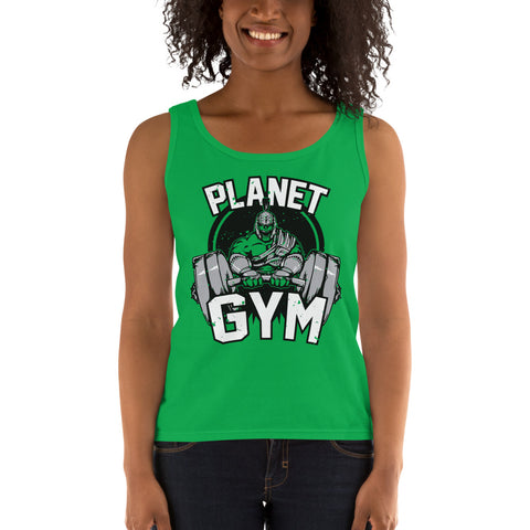 Planet Gym Ladies' Tank - Tshirtsbros