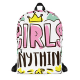 Girls Anything Backpack - Tshirtsbros