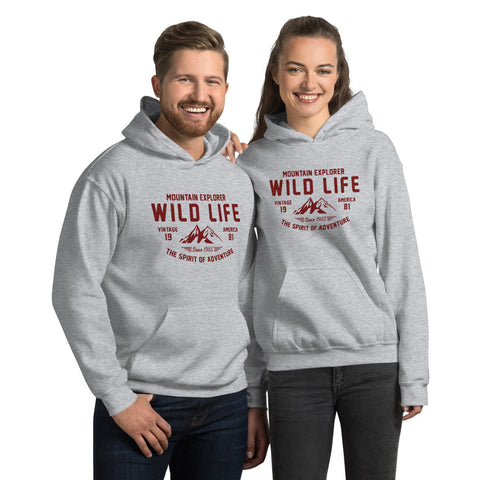 Wild Life Hooded Sweatshirt
