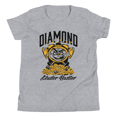 Diamond Cluster Hustler Youth Short Sleeve T-Shirt