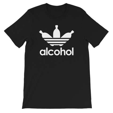 ALCOHOL Short-Sleeve Unisex T-Shirt
