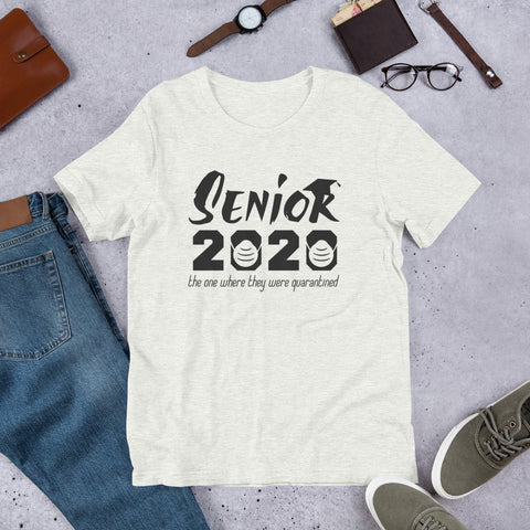 Senior 2020 THE ONE! Short-Sleeve Unisex T-Shirt - Tshirtsbros