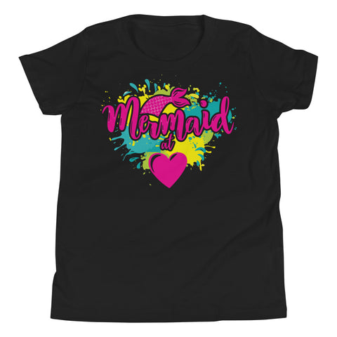 Mermaid Youth Short Sleeve T-Shirt