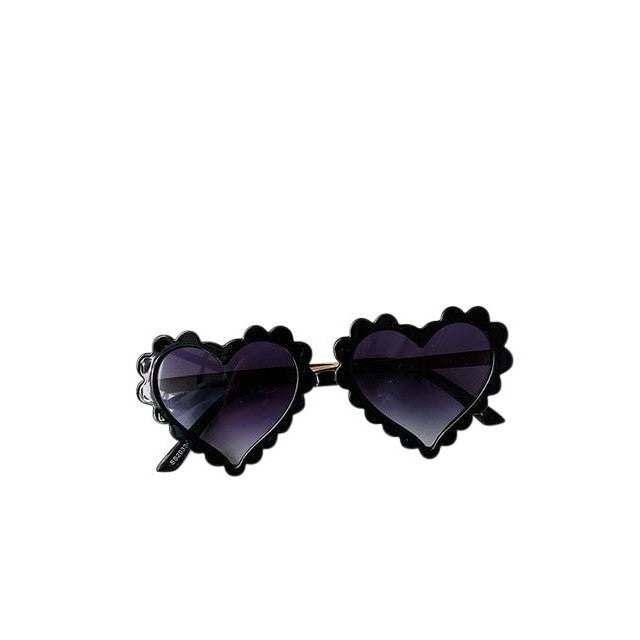 Heart Sunglasses - Black