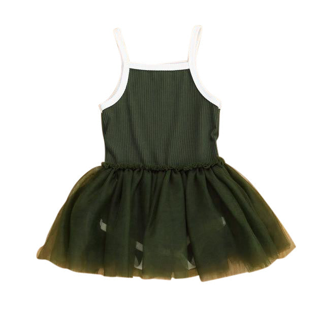 MIni Tutu Dress - Green
