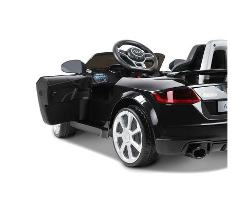Kids Ride On Car Audi Licensed TT RS Black