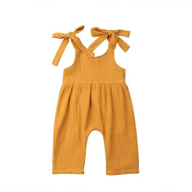 Beck Jumpsuit - Yellow