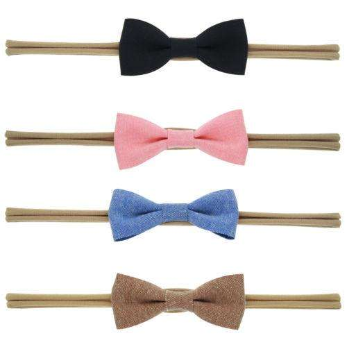 Bow Headband 4 Pack