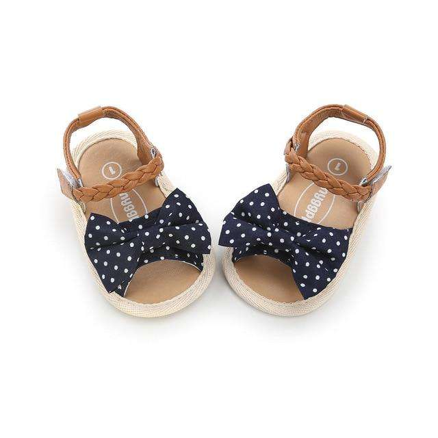 Bow Sandals - Polkadot
