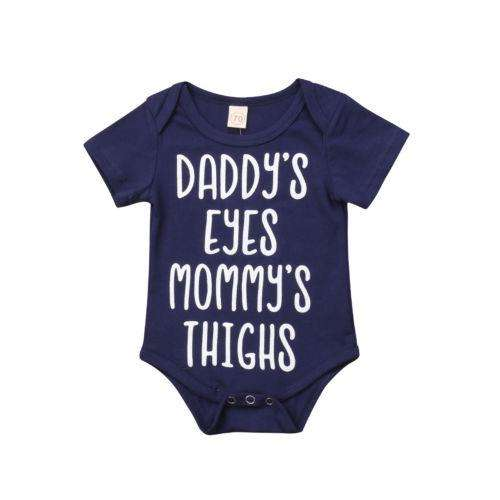 Daddy's Eyes Mommy's Thighs Bodysuit