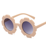 Flower Sunglasses - Peach