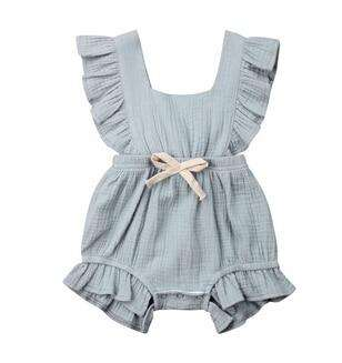 Grace Romper - Grey Blue