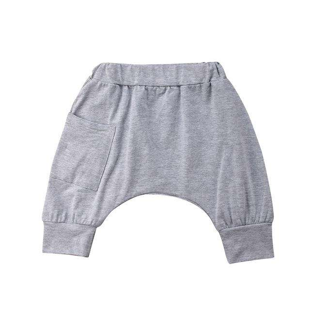 Harem Shorts - Grey