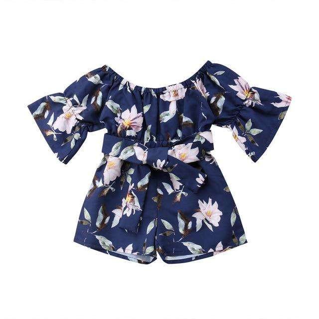Heavenly Romper - Navy
