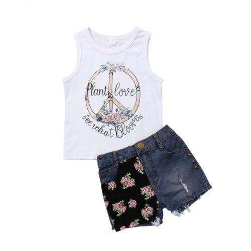 Plant Love Denim Set