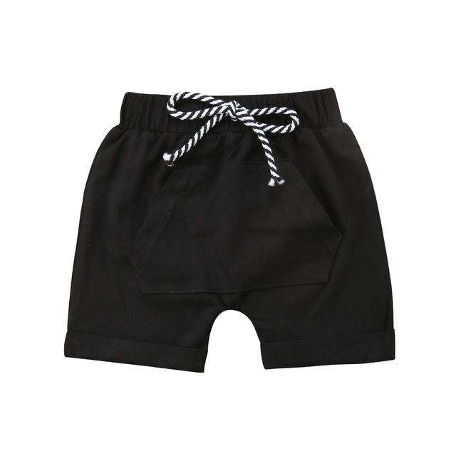 Pocket Shorts - Black