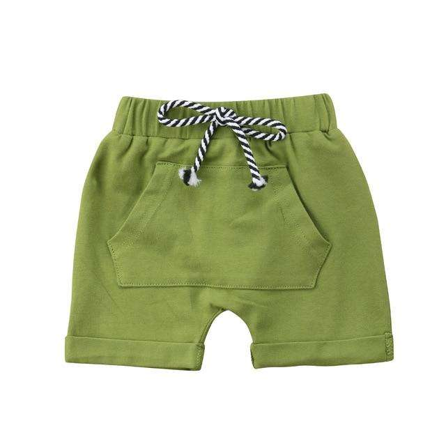 Pocket Shorts - Green