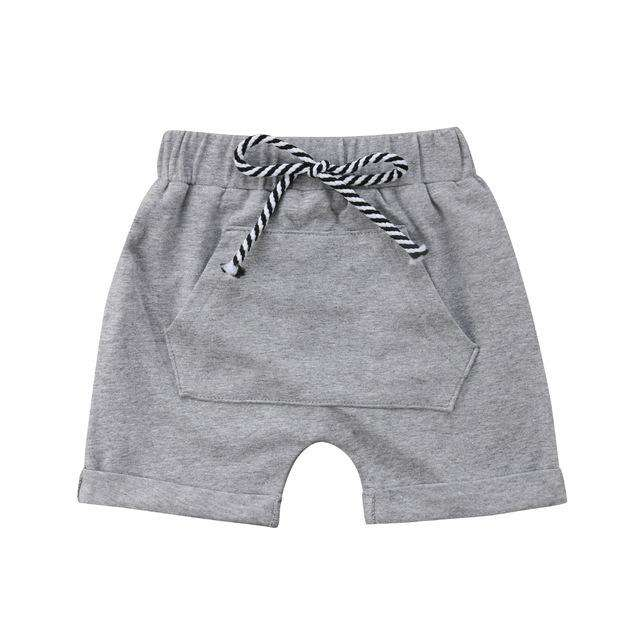Pocket Shorts - Grey