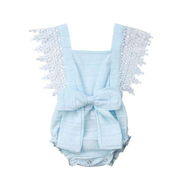 Polly Romper - Blue